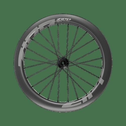 Roda Zipp 404 Firecrest Carbon Tubeless A1 700c freio a disco center locking 24 raios - Padrão Shimano 10/11sp 12x142mm Traseira